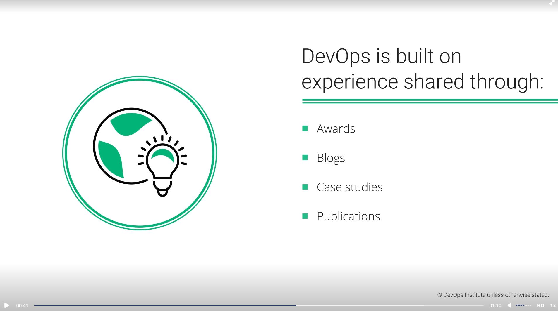 DevOps Foundation® Certification