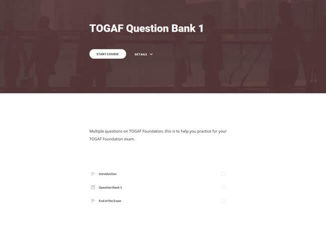 Practice Exams: TOGAF®9 Foundation