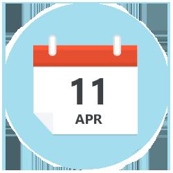 11 April